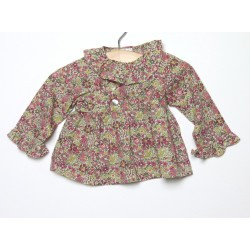 Blouse La Fee Clochette 3 mois Liberty