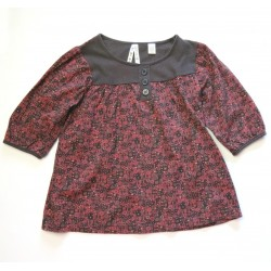 Blouse Okaidi fille 6 ans manches 3/4